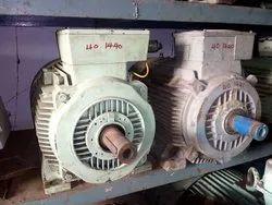 Used Industrial Three Phase Motor, 440 V