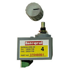 Rotary Switch 370460B1 4-Position Integral