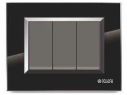 Valencia Series Black Switch Plate