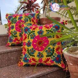 Suzani Embroiders Beautiful  Cushion Cover