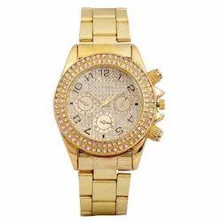 Golden Diamond Watch