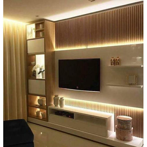 Wall Mounted Modern Tv Unit Size 40 49 Inch Rs 950 Square Feet