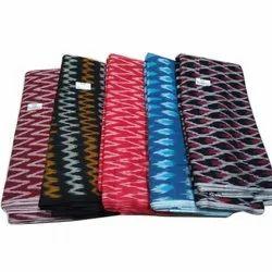 Self Design Ikat Fabric