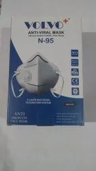 volvo Disposable Mask N95, Certification: Drdo