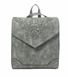 P.U Leather Backpack