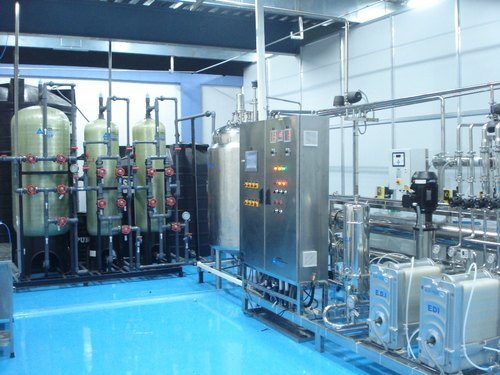 Purified Water Generation And Distribution System