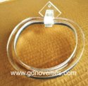 Acrylic Towel Ring Round