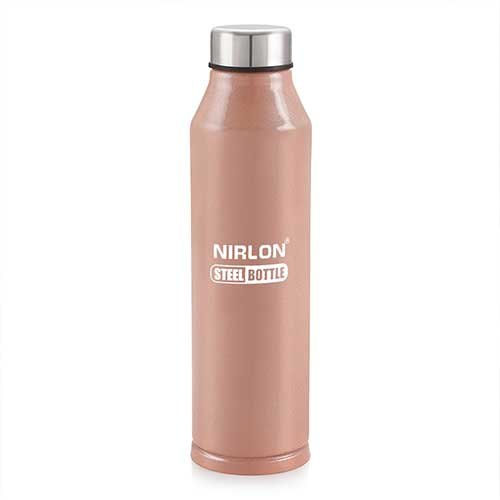 Light Brown Steel Bottle