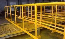 Balcony Panel Railing, For Industry, Material Grade: Mild Steel