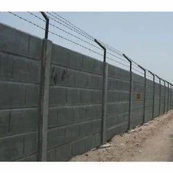 6 inch Precast RCC Boundary Wall