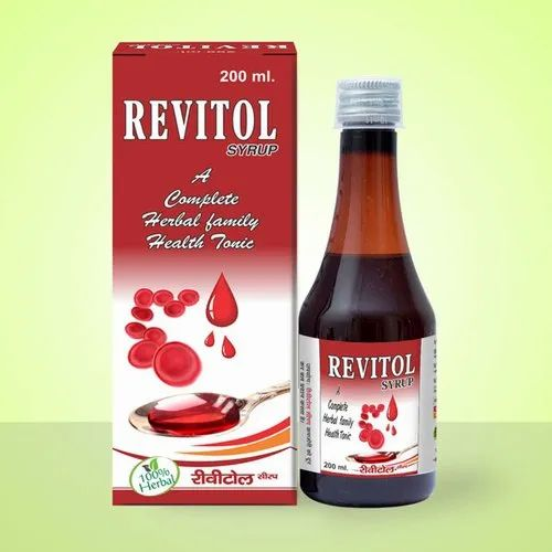 Hyeto Herbals 200ml Revitol Surup 200 Ml 450 Ml Rs 95 Bottle Id 21523261373