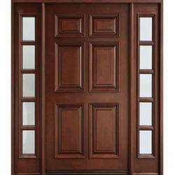 Six Panel Solid Wood Door