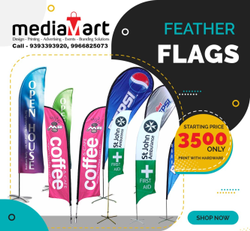 Customized Printed Feather Flags, Advertising Flags, Custom Teardrop Banners
