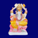 White And Black N / A Home Decor Marble Ganesh Statue, Packaging Type: Export Packing, Spiritual Hindu Puja Statue