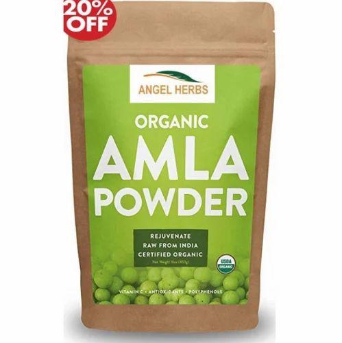 Herbal Amla Powder - Angel Herbs Amla Powder Ecommerce Shop