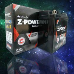 Z-Power SMF VRLA Bike Battery, Capacity: 2.5 to 12 Ah