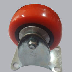 3 Inches PU Trolley Caster Wheel