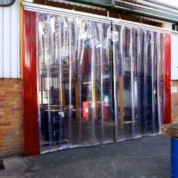 Icon Plain PVC Strip Curtains, Thickness: 0.8 Mm -5 Mm, Size: 3 - 20 Ft