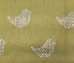 Yellow  Curtains Fabric