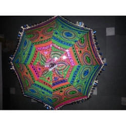 Mirror Embroidered Umbrella