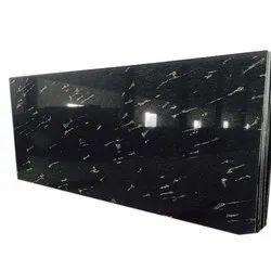 Fish Black Granite Slab