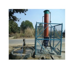 Hand Pump Attached Iron Removal System