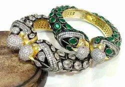 Peacock Victorian  Bracelet