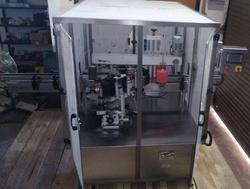 Double Side Vertical Labeling Machine With Enclosure