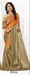 Kalista Fashion Krish Georgette Designer Fancy Saree Collection