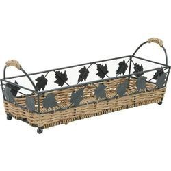 Wicker Metal Bread Basket