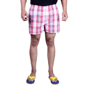 Mens Casual Checked Shorts