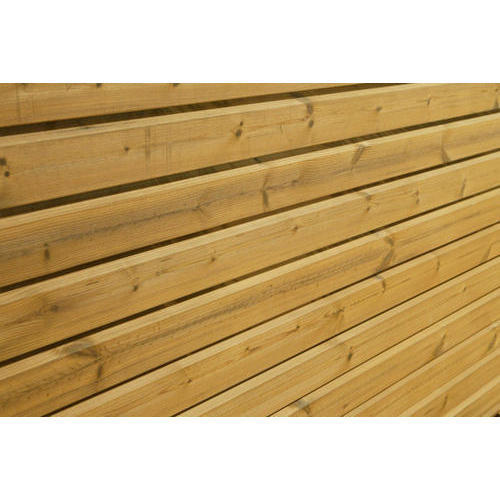 Pine Cladding: Thermo Pine Wooden Cladding At Rs 310 /square Feet