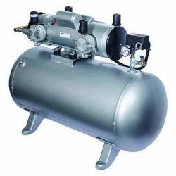 50 HP Electric DC Piston Air Compressor, Maximum Flow Rate (CFM): 140 Cfm