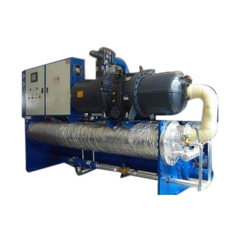 FRP Three Phase Water Cooled Chiller Plant, Automation Grade: Automatic, Water-Cooled