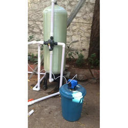Semi Automatic Residential Softener Plant