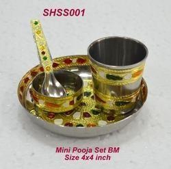Mini Pooja Set BM