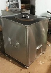 Ss Stainless Steel Tandoor Bhatti, For Restaurant