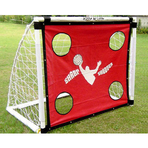 GAMA White and Red Sharp Shooter Goal, Size: 3 x 3 x 1.5 ft