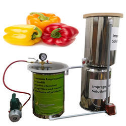 Vacuum Impregnation Machine- Physico Chemical Properties And Sensory Attributes Of Peppers
