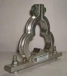 Die Cast Aluminum Trefoil Clamps Cleat