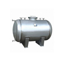 Horizontal Stainless Steel Storage Tank