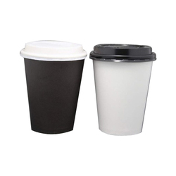 White And Black. Red. Multicolord Paper 12 Oz Disposable Plain Cup, Packet Size (pieces): 50 Pieces And 100 Pieces