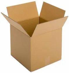 Corrugated Kraft Paper Rectangular Cardboard Box, For Gift & Crafts, Weight Holding Capacity (kg): <5 Kg