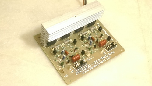 Audio Amplifier Board 100 Plus 100 Watt