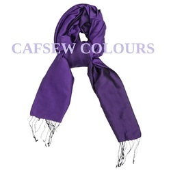Silk Purple Scarves