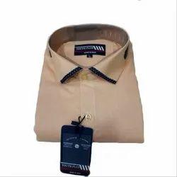 Plain Cotton Youth Plus Men's Casual Shirt, Size: L