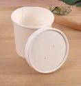 White Paper Container