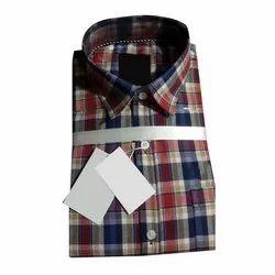 JD Choice Casual Wear Mens Full Sleeve Check Shirts, Size: S-xxl, Machine wash