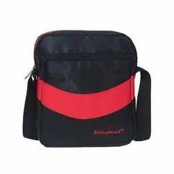 Kelvin Planck Black Promotional Polyester Sling Bag