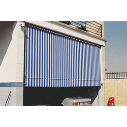 Vertical Awning Structure